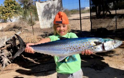 The day I caught my first fish – by Jaxon