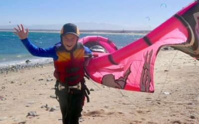 Learning to Kiteboard – by Charley